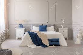99 New York Style Bedroom York Style Bedroom Interior With Symmetric Design Copy Space