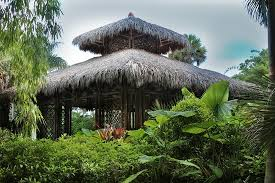 Bamboo Pavilion Picture of McKee Botanical Garden Vero Beach