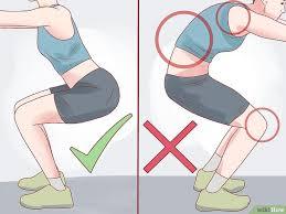 comment faire des squats avec un mal de genou wikihow