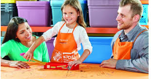 Home Depot Kids Workshop Register NOW to Build Free Pencil Box on