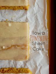 Nordic Ware Pumpkin Cake Pan Recipe by Ally U0027s Sweet And Savory Eats Iowa Pumpkin Sheet Cake