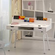 bureau ordinateur blanc bureau informatique design blanc cielterre commerce