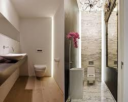 kleines bad modern gestalten mit einbauleuchten kreative