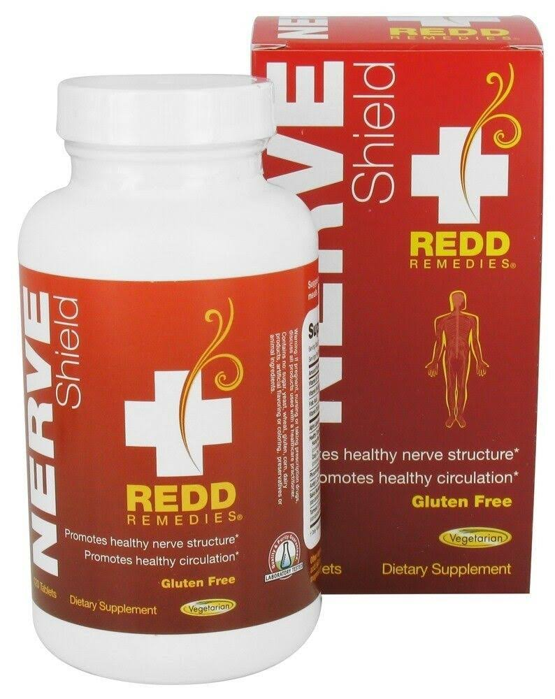 Redd Remedies Nerve Shield Supplement - 120 Tablets