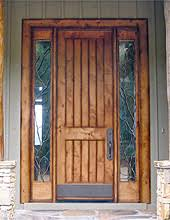 DbyD 3008 Old World Exterior Wood Front Entry Door 3009