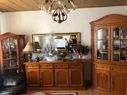 antik wohnzimmer vitrinen sideboard ofen tv schrank