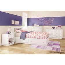 Sauder Beginnings Dresser White by Sauder Beginnings 1 Drawer Soft White Nightstand 415543 The Home