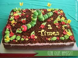 kleine raupe nimmersatt große torte für kleine menschen