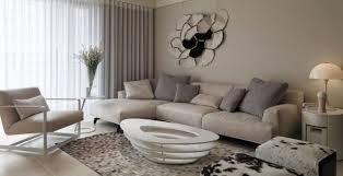 wohnzimmer neutrale farben ideen beige grau modern