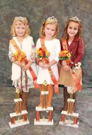 Circleville Pumpkin Festival by Holsinger Named 2016 Little Miss Pumpkin Show News