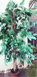 künstliches baum pflanzen blumen garten deko wohnzimmer