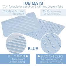 Bathtub Mat No Suction Cups by Round Bath Tub Mat Clean Healthy Living