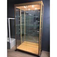 vitrine d exposition occasion vitrine d exposition en hêtre vitrine occasion