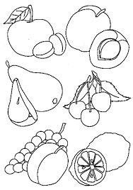Fabulous Healthy Food Coloring Pages Almost Grand Article