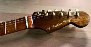 USA Custom Shop Light Relic Candy Red Fender Noiseless