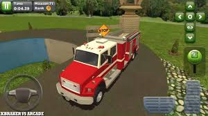 100 Fire Truck Parking Games Obstacle Course Car New Vehicle Unlocked Android