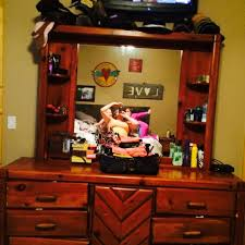 best 6 drawer dresser with mirror and middle cabinet for sale in