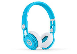 Amazon Beats Mixr Wired Ear Headphone Light Blue