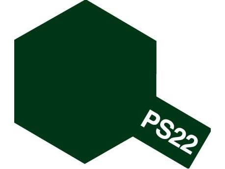 Tamiya Polycarbonate PS-22 Racing Green Spray Paint