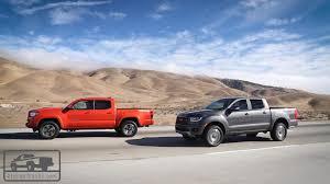 100 Cars Vs Trucks Returning 2019 Ford Ranger Takes On TopSelling 2018 Toyota Tacoma