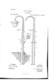 Who Invented The Lamp Post by Patent Us361495 Lamp Post Google Patentsuche