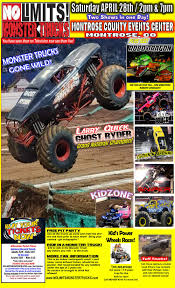 No Limits! Monster Truck Tour | Montrose, CO — Monsters Monthly ... Monster Trucks Coming To Champaign Chambanamscom Charlotte Jam Clture Powerful Ride Grave Digger Returns Toledo For The Is Returning Staples Center In Los Angeles August Traxxas Rumble Into Rabobank Arena On Winter 2018 Monster Jam At Moda Portland Or Sat Feb 24 1 Pm Aug 4 6 Music Food And Monster Trucks Add A Spark Truck Insanity Tour 16th Davis County Fair Truck Action Extreme Sports Event Shepton Mallett Smashes Singapore National Stadium 19th Phoenix