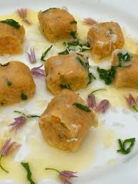 Pumpkin Gnocchi Recipe With Sage Butter by Sweet Potato And Oregano Gnocchi With Sage Butter Everyday