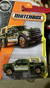 100 Contractor Truck Matchbox Construction Series 2015 Ford F150 Auction