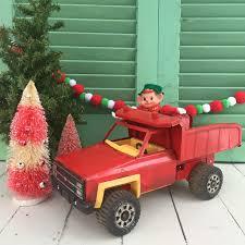 Vintage Toy Tonka Truck, Vintage Christmas Truck, Vintage Christmas ...