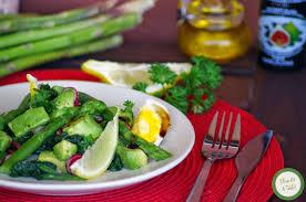 cuisine asperge recette salade asperge avocat cuisine
