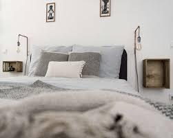 minimalistisches cozy schlafzimmer der einrichtung