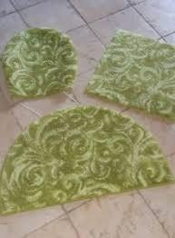 geblümte badvorleger teppiche toilettensitzabdeckungen