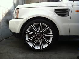 Range Rover White With Black Rims, Cheap Black Rims   Trucks ...