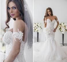 retro lace off shoulder wedding dresses 2016 sweetheart