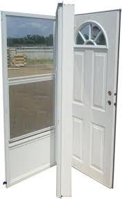 32x78 Steel Door Fan Window LH for Mobile Home Manufactured Housing