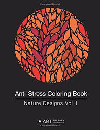 This Stress Relieving Adult Coloring Book With Beautiful Nature Designs Is For Anyone Who Loves