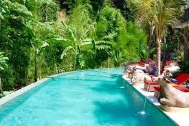 100 Bali Infinity Pools In Rice Field Ocean Sunset View