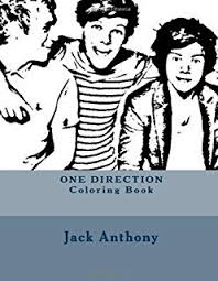 One Direction Coloring Book Art Books
