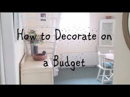 How To Decorate Your Home On A Tight Budget Save Money Dining Room Hall Tour