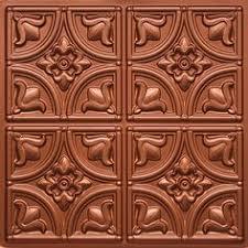 24 X 24 Inch Ceiling Tiles by La Scala Faux Tin Ceiling Tile 24