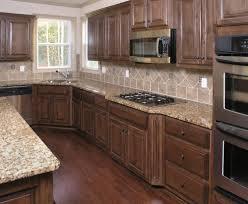 Kitchen Backsplash Ideas With Dark Oak Cabinets by Cabinet How To Finish Unfinished Kitchen Cabinets Unfinished