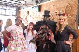 Five Points Halloween In Five by Andrea Nicole Baker Atlanta In The Little Five Points