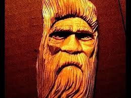 full wood spirit carving tutorial by d m allen how to carve a face