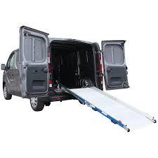 100 Heavy Duty Truck Service Ramps WM System Aluminium ALLight Van Ramp With Swivel 400kg Capacity