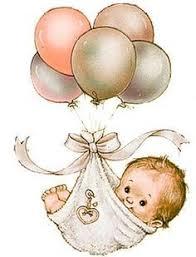alles gute zum geburtstag babys kinder baby illustration