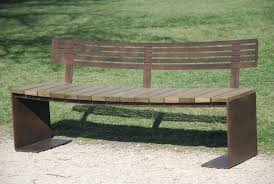 Garden Bench And Seat Pads Rustic Outdoor Diy Yard