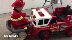 100 Power Wheels Fire Truck POWER WHEELS FIRE TRUCK GOES TO PAINT SHOP Part 1 YouTube