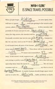 Halloween Mad Libs Esl by Mad Libs Printable Mad Libs For Adults Reunion