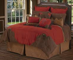 Red Rodeo Bedding Design