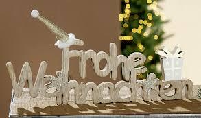 moderne aufsteller style home weihnachten holz schriftzug i